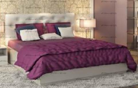 Кровать Мишель 160 (б/о) 01.517