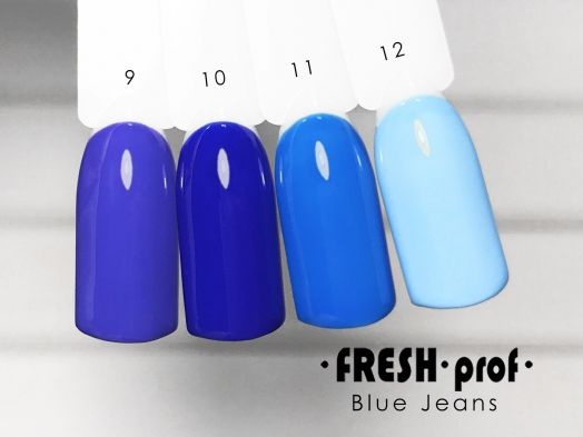 Гель-лак Fresh Prof BLUE 10г  B09