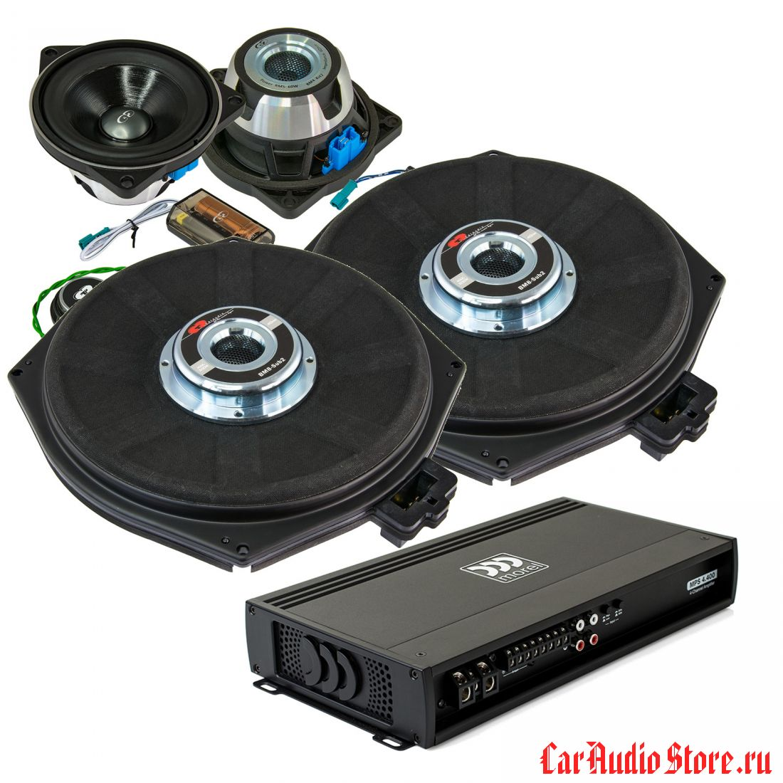 Base Kit Plus CDT Audio 2.1 (MOREL)