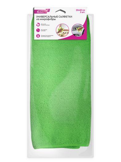 Универсальная салфетка из микрофибры, зеленая OLMIO