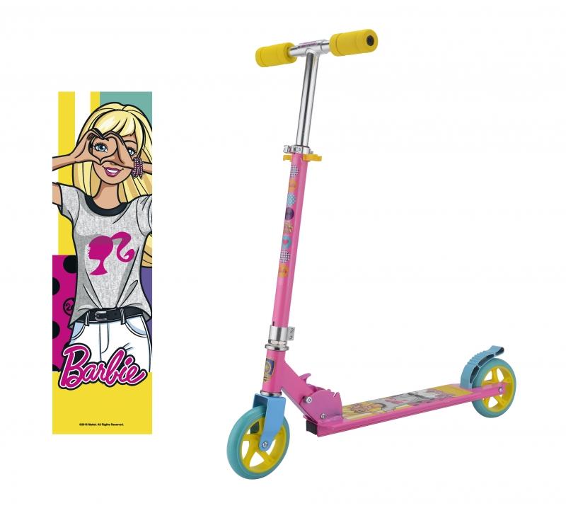 Самокат двухколёсный Navigator Barbie