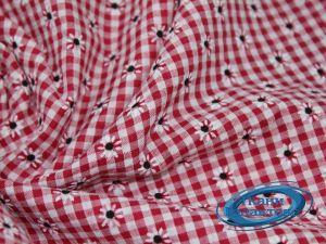 Рубашечная ткань клетка принт VT-9825/D2/C#3