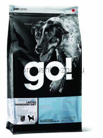 GO беззерновой для щенков и собак с минтаем для чувствительного пищеварения