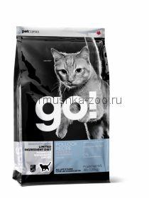 GO беззерновой для котят и кошек с чувств. пищеварением с минтаем