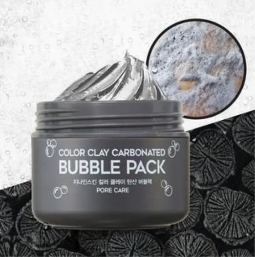 Маска для лица глиняная пузырьковая G9SKIN Color Clay Carbonated Bubble Pack 100мл