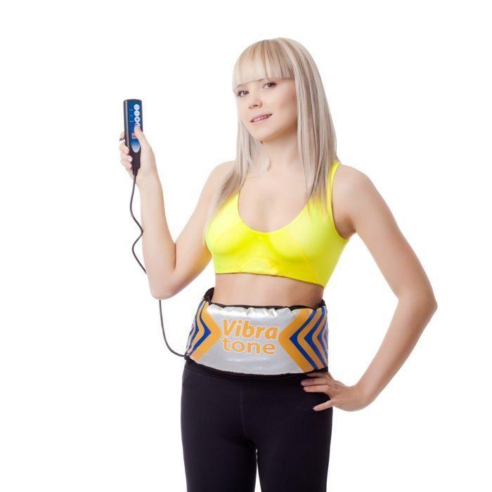 Пояс вибромассажный для похудения Vibra Tone