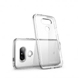 Чехол силиконовый для LG G5 прозрачный CASEY