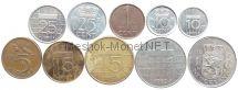 Набор монет Нидерландов (10 монет)