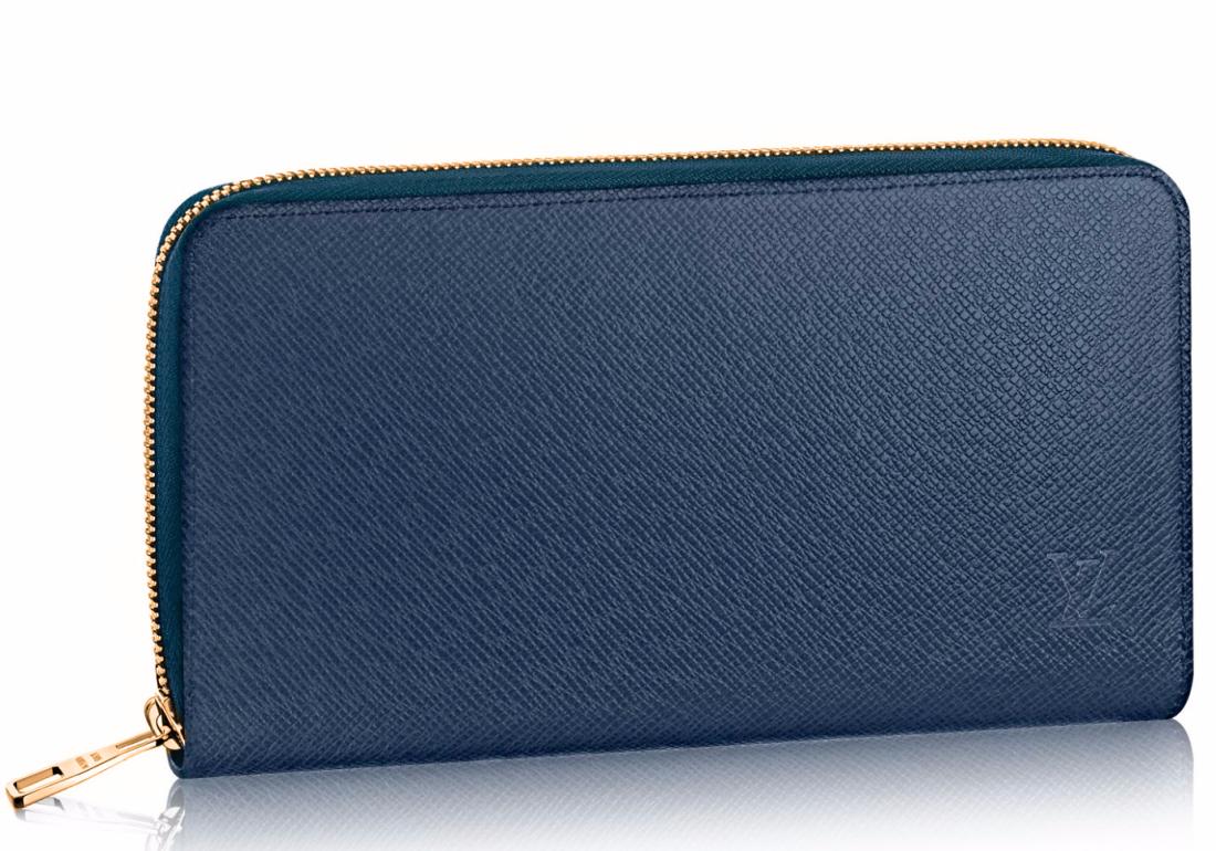 LV Zippy Wallet Taiga 91003