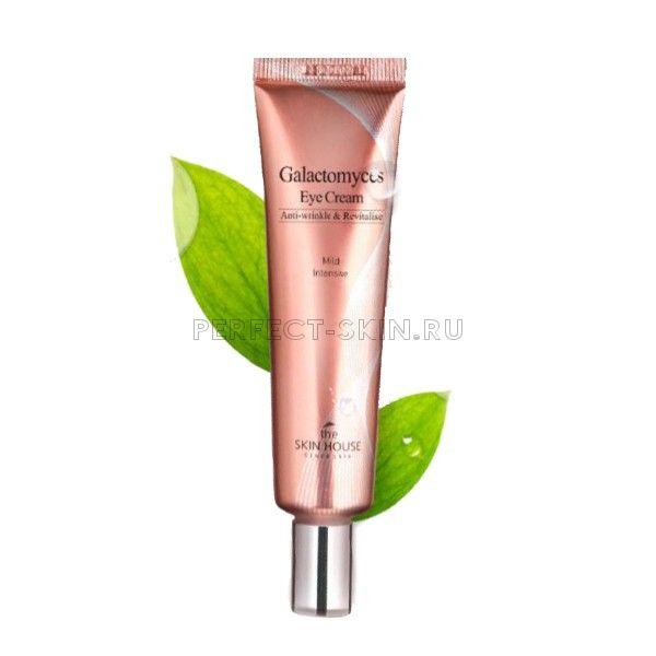 The Skin House Galactomyces Eye Cream - Ферментированный увлажняющий крем для век 30 мл