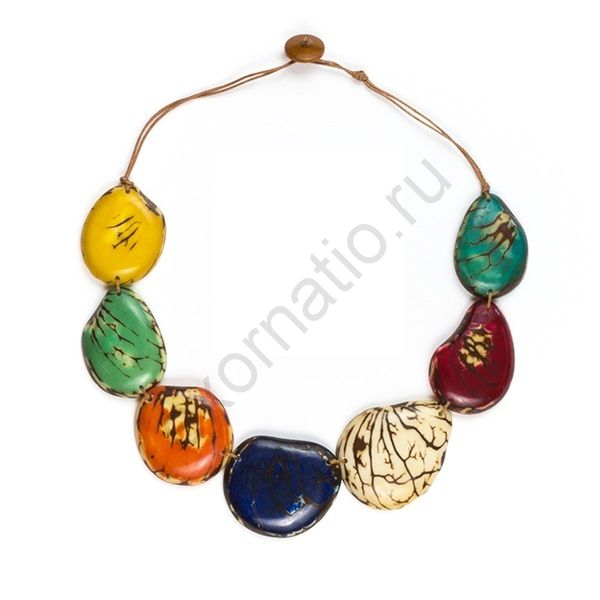 Колье TAGUA BY SORAYA LC203-Multi-G. Коллекция River Stones