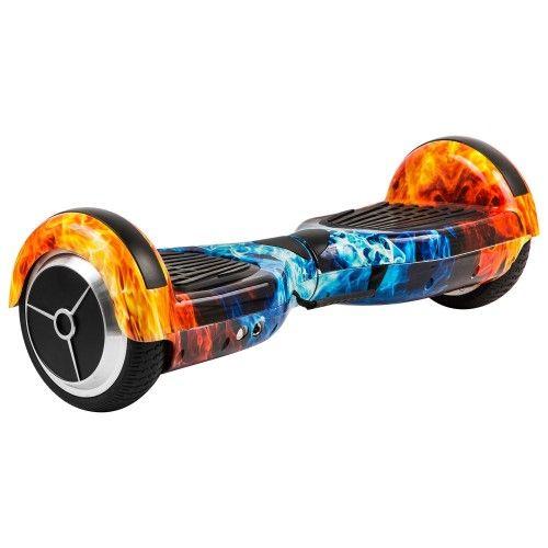 Гироскутер Smart Balance Wheel 6.5 APP Самобаланс Разноцветный огонь