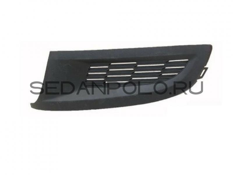 Заглушка ПТФ бампера Аналог Volkswagen Polo Hatchback