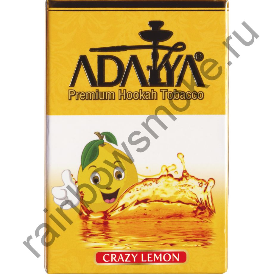 Adalya 50 гр - Crazy Lemon (Чокнутый Лимон)