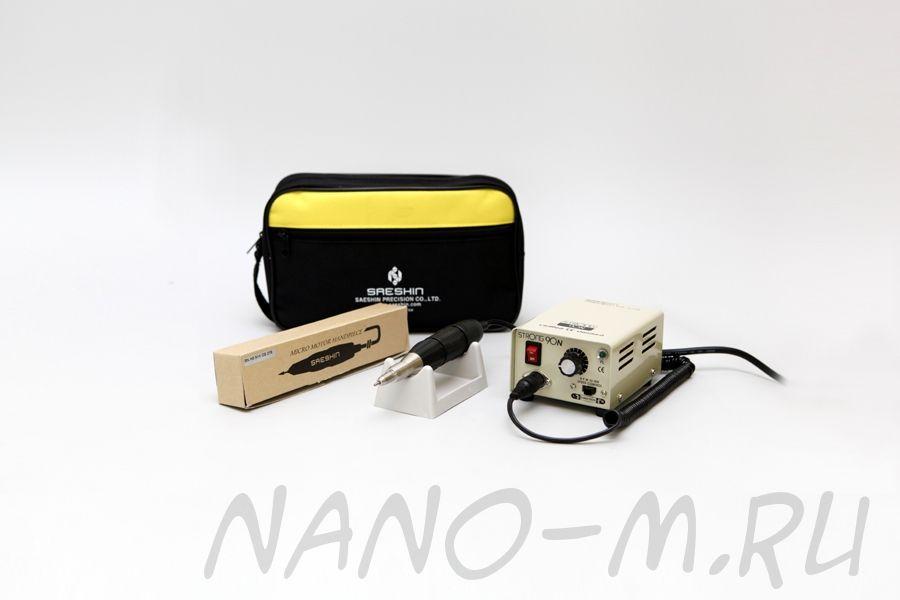 Аппарат Strong 90/102 для маникюра без педали с сумкой