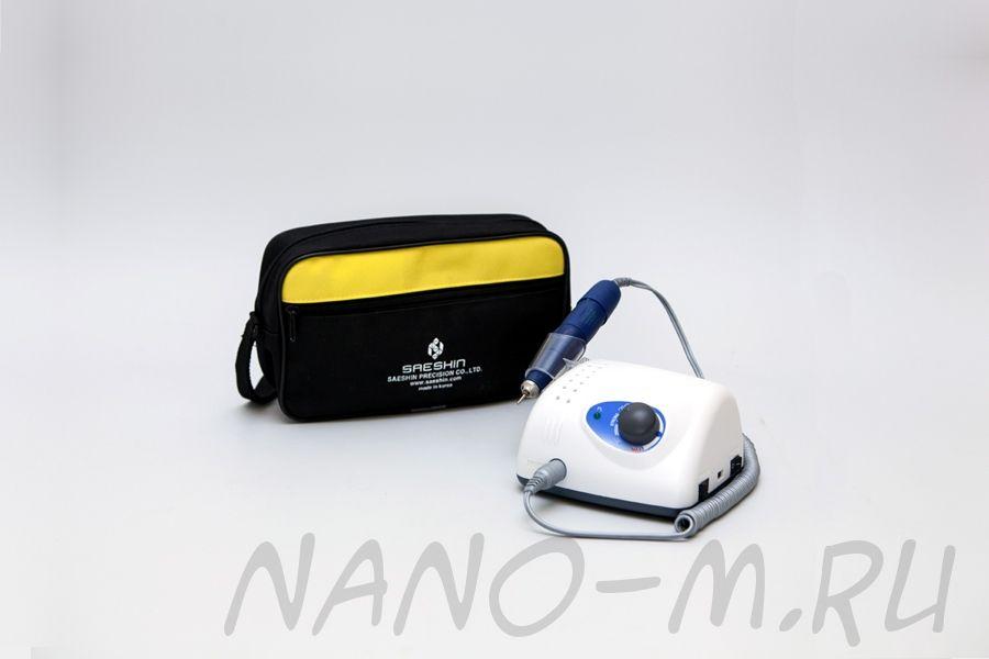 Аппарат Strong 210/105L для маникюра, машинка без педали с сумкой
