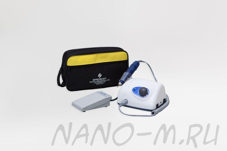 Аппарат Strong 210/105L для маникюра и педикюра с педалью в сумке