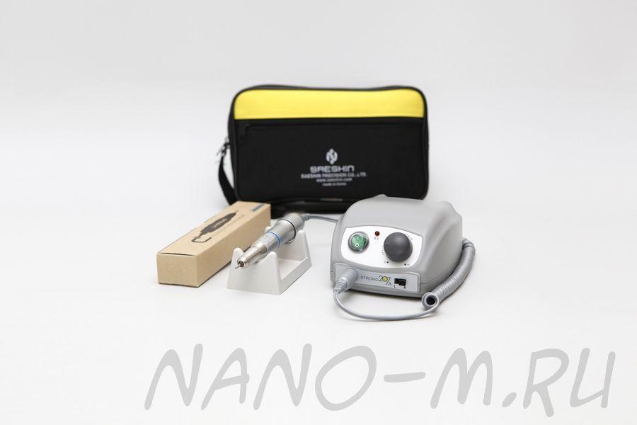 Аппарат для маникюра Strong 207A/107II (без педали с сумкой)