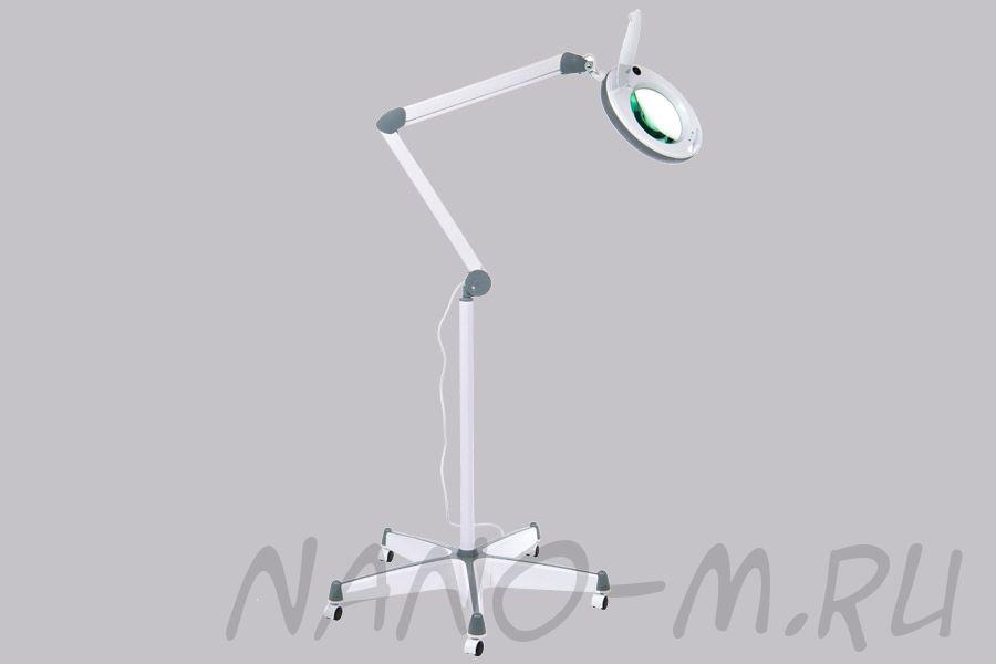 Лампа-лупа с регистрационным удостоверением ЛЛ-5 на штативе