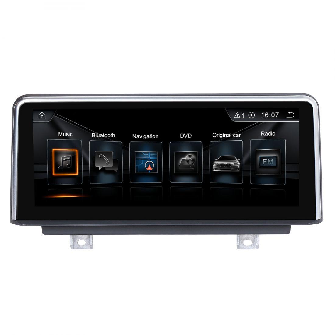 "Radiola NAV-RDL-8213 BMW 4 серии F32/F33/F36 (2013-2016) Android 10.25""дюймов Магнитола NBT LVDS 6pin"