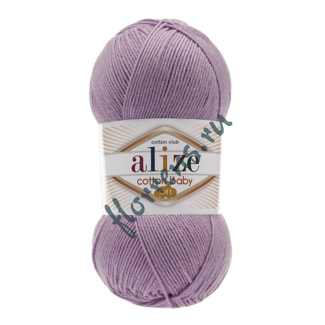 Пряжа Alize Cotton Baby soft / 520 роза барочная