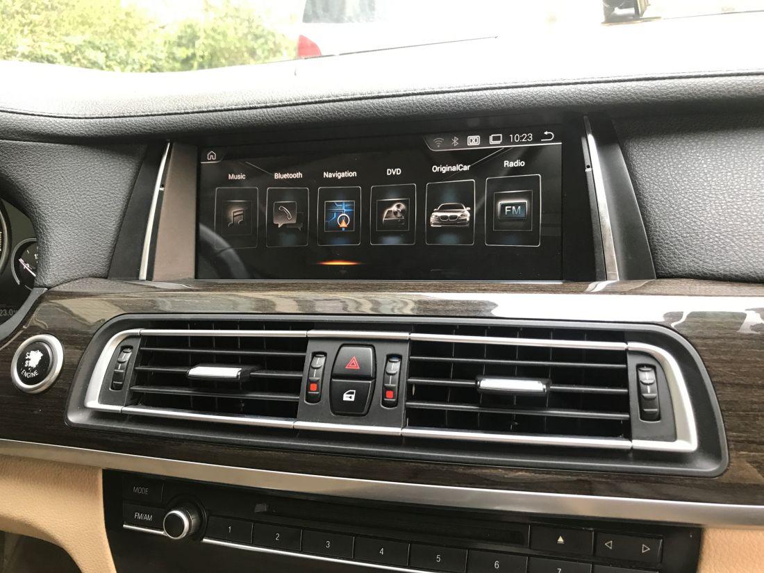 "Radiola NAV-RDL-8217 CIC Магнитола BMW 7 серии F01/F02 (2009-2012) Android,9.0  10,25"""