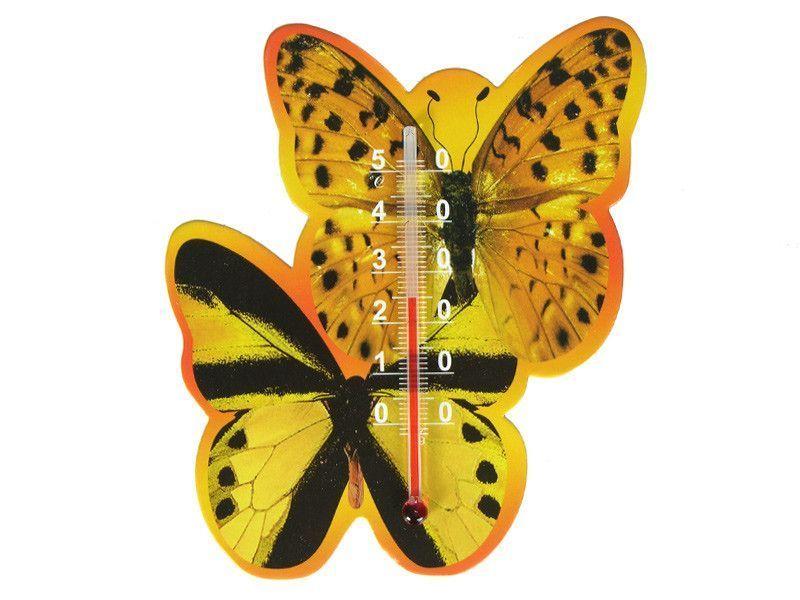 Комнатный термометр на магните бабочки