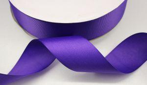 `Лента репсовая однотонная 50 мм, цвет: фиолетовый