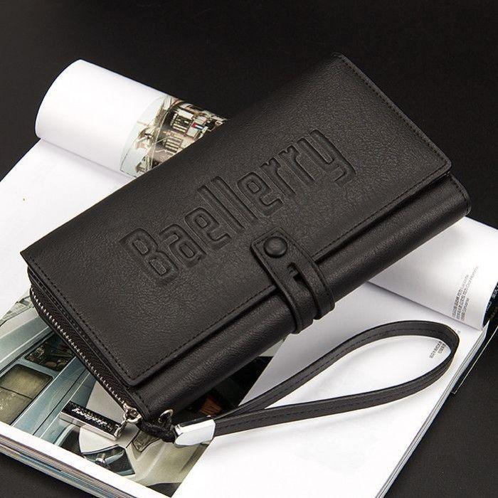 Мужское портмоне Baellerry Guero (Цвет: Черный)
