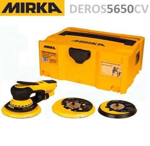 Шлифмашинка MIRKA DEROS 5650CV 125/150 мм орбита 5,0