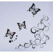 """стикер """"лоза и бабочки"""""""