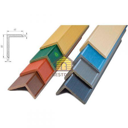 Угол декоративный Robust Boden из ДПК 62х62 мм