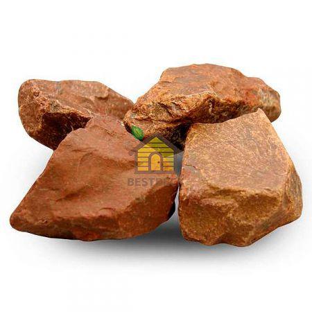 Яшма для сауны, обвалованная, ведро 10 кг