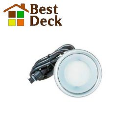 Дополнительный светильник 0,3Вт для террас. Диаметр 60мм; тёплый/холодный свет