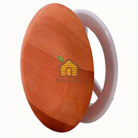Вентиляционный клапан 634-D Sawo круглый из кедра