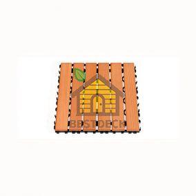 Деревянный коврик Sawo 595-BLK для сауны, внутренний блок (сосна, кедр)
