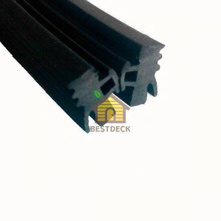 Уплотнитель резиновый EPDM узкий 8,3*13,5 мм