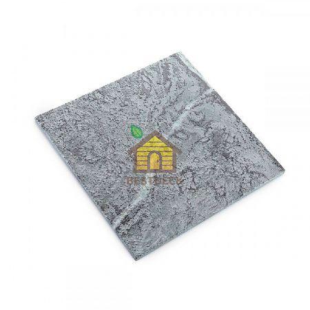 Плитка талькомагнезит антик 300*300*10 мм для бани и сауны