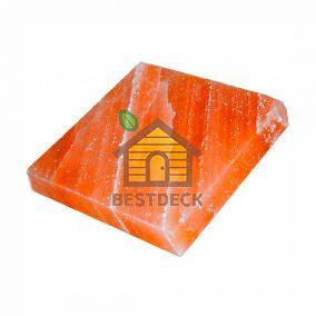 Плита из гималайской соли 200*200*50 мм розовая