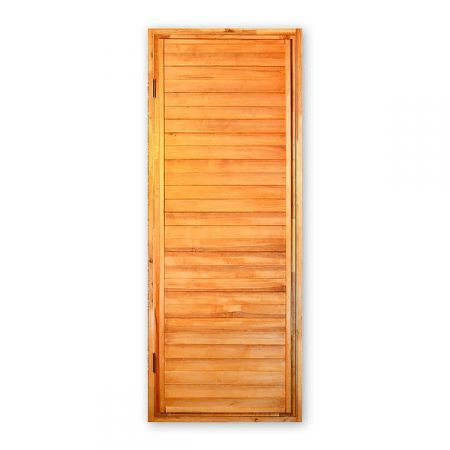 Дверь для бани из чёрной ольхи ДГ-4
