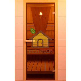 Дверь стеклянная для бани/сауны 1900х700 мм