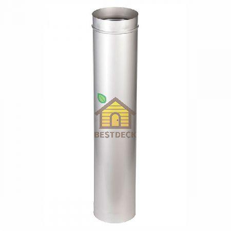 Труба одноконтурная 1000 мм для дымохода