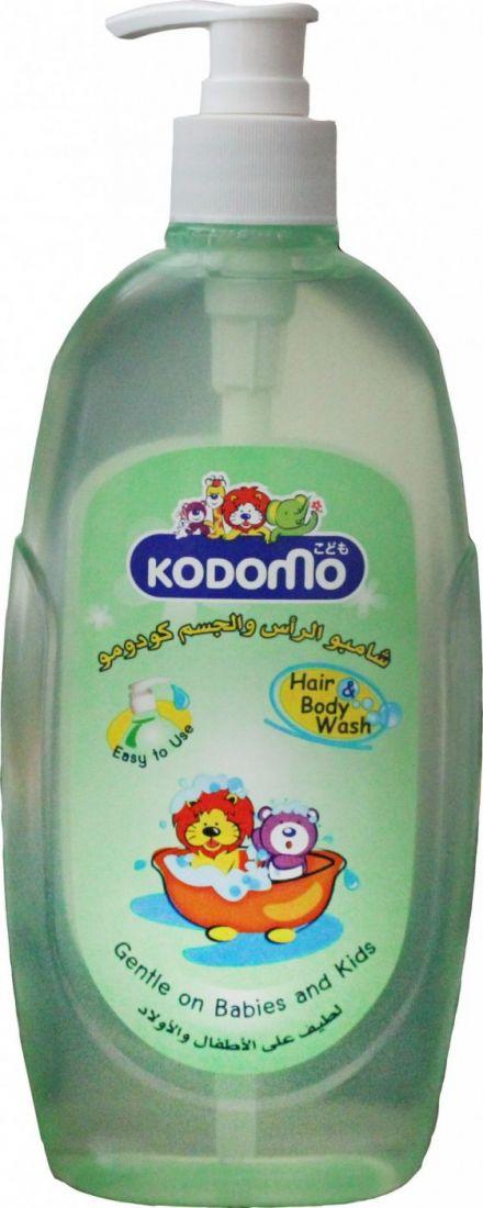 """LION """"Кодомо"""" Средство д/мытья 400мл """"От макушки до пяточек"""" для детей /дозатор"""