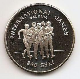 Игры Доброй Воли 1984 Спортивная ходьба 200 Сили Республика Гвинея 1984 ПРУФ