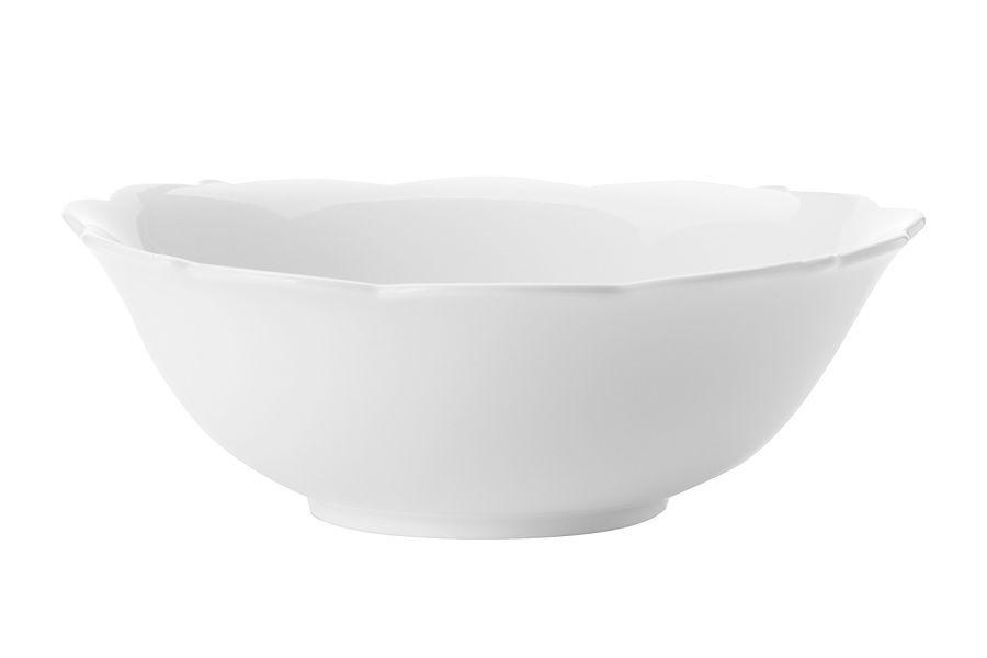 "Салатник ""Белая роза"" без инд.упаковки, 20 см"