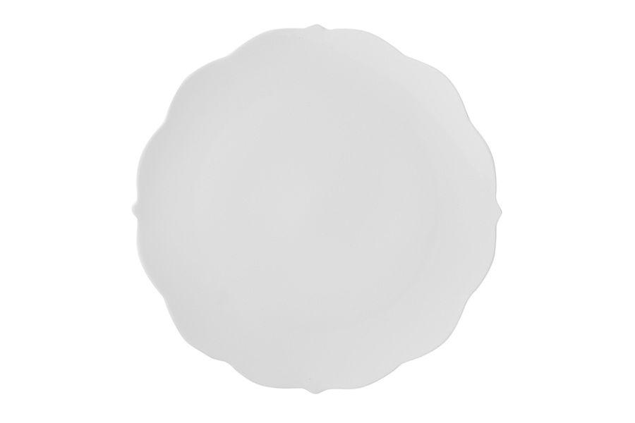 "Тарелка закусочная ""Белая роза"" без инд.упаковки, 22.5 см"