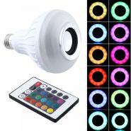 LED лампочка с Bluetooth колонкой