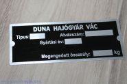 Pannonia. Табличка на коляску