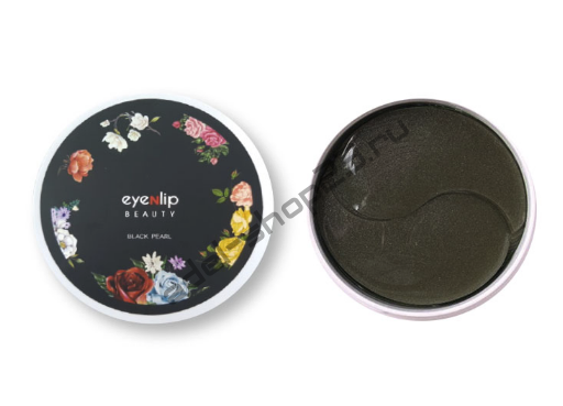 Eyenlip - Гидрогелевые патчи с черным жемчугом для глаз Hydrogel Eye Patch Black Pearl