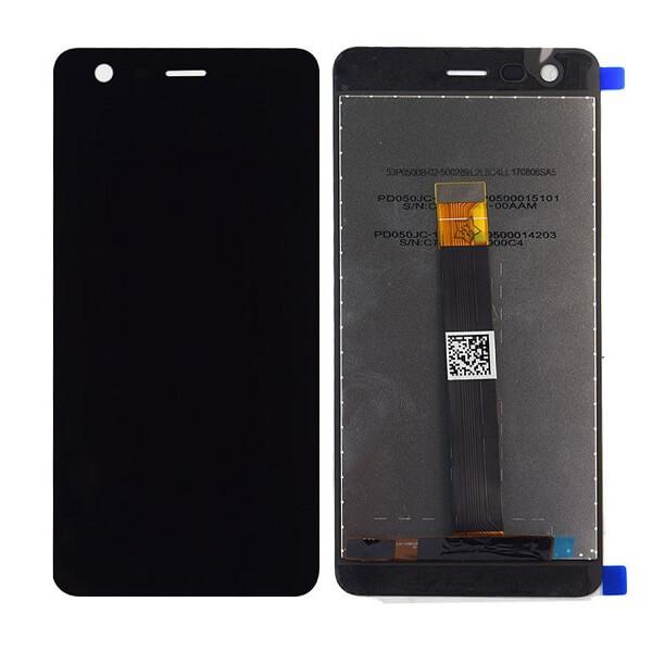 Дисплей в сборе с сенсорным стеклом для Nokia 2 (TA-1029)